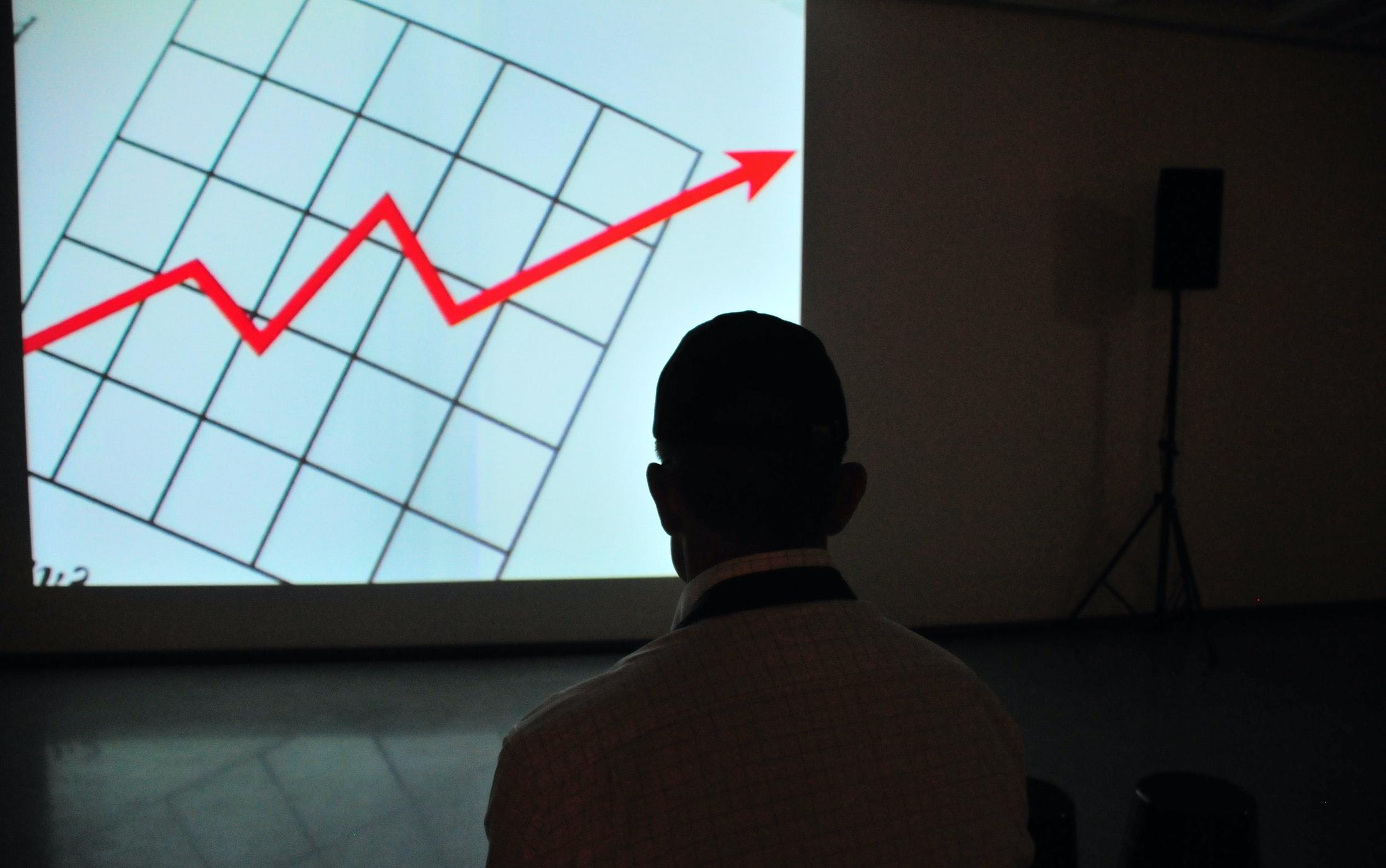 チャート図(上昇)